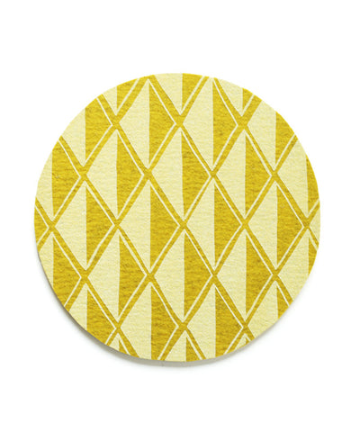 Gold Diamond Trivet
