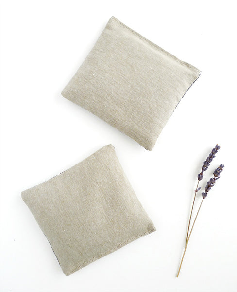Linen lavender sachet - made with organic lavender