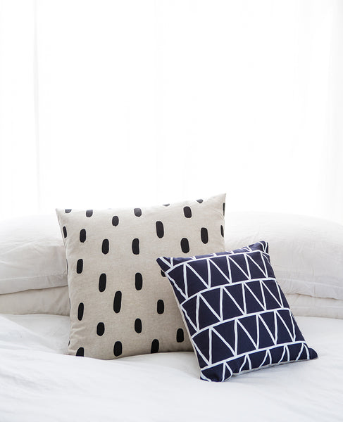 Linen Brushstroke Pillow