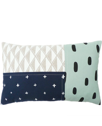Shore Patchwork Pillow - Oblong