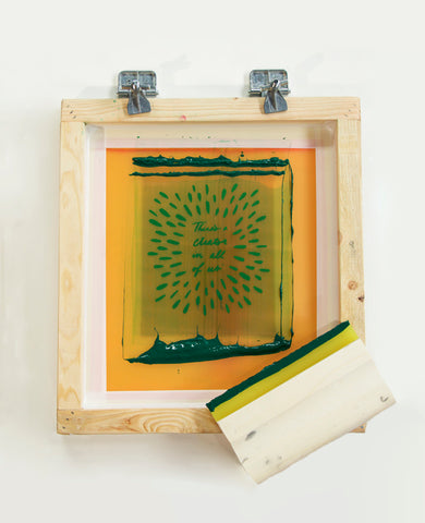 Online screenprinting class from Erin Dollar