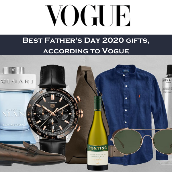 Vogue Father's Day Gifts 2020
