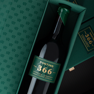 "Ponting ""366""  McLaren Vale / Coonawarra Shiraz Cabernet 2017 (Individual Gift Boxes within a 3 PACK)"
