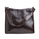 Charger l'image dans la galerie, HVISK AMBLE CROCO DARK BROWN