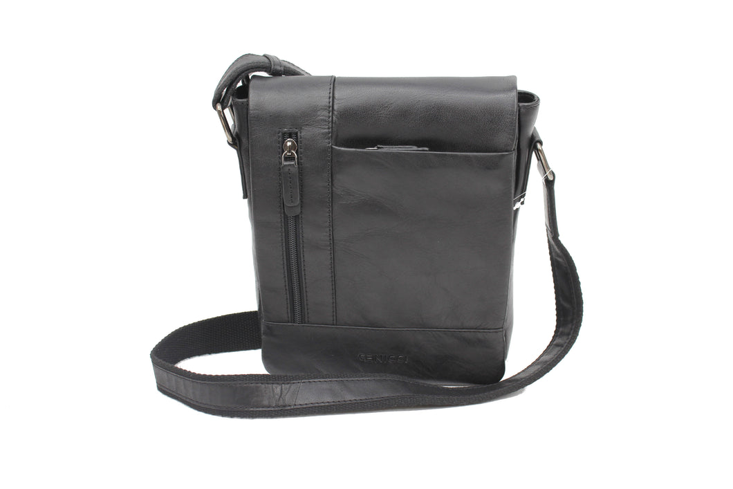 Genicci Theo Crossbody flap black