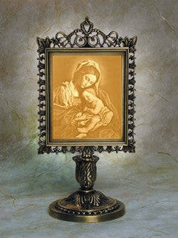 Victorian Stand Madonna And Child