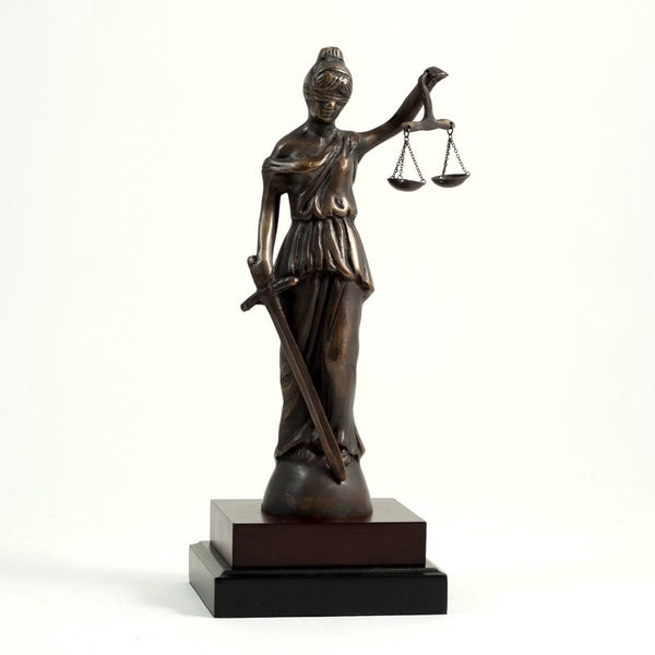 Lady Sculpture Justice