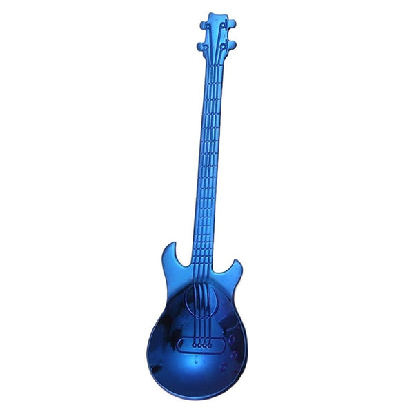 CUCHARA GUITARRA AZUL