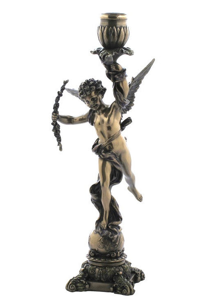 CANDELABRO CUPID CANDLE HOLDER