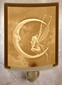 Curved Night Light Fairy Moon