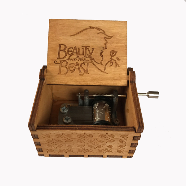 Caja Musical Beauty And The Beast
