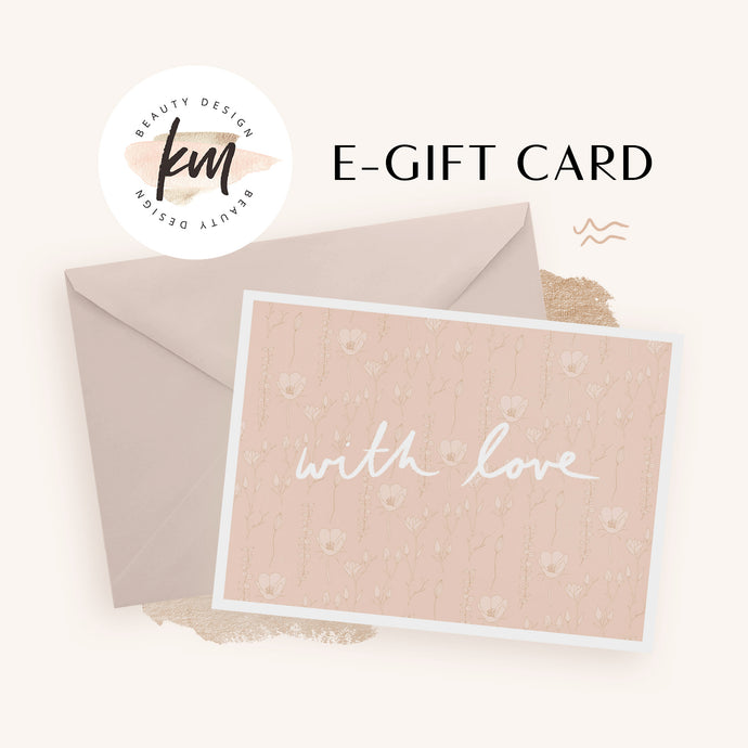 KM Beauty Gift Card