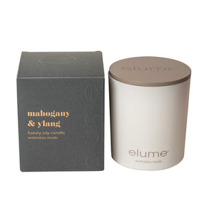 Elume MAHOGANY AND YLANG Soy Candle