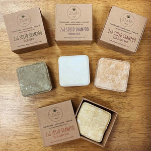 ZWP 2-in-1 Solid Shampoo