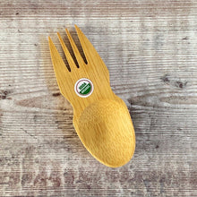 Load image into Gallery viewer, Organic Bamboo Spork