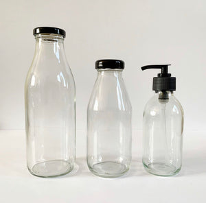 Recycled Glass Bottles - Empty