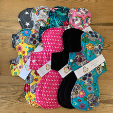 Load image into Gallery viewer, Ginger Green Reusable Menstrual Pad