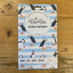 BeeBee Beeswax Wraps - Mixed Pack