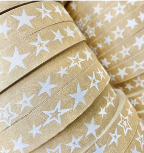 Brown Paper Packing Tape - Christmas