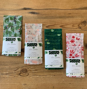 Eco Kiddles Soya Wax (Vegan) Food Wraps - Mixed Pack XS/S/M