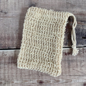 Sisal Soap Saver Pouch