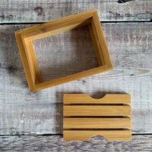 Load image into Gallery viewer, Organic Bamboo Soap Dish