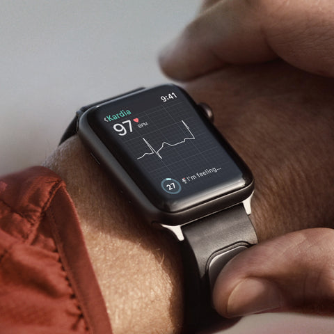 Kardiaband Ekg Band For Your Apple Watch Alivecor Alivecor Inc