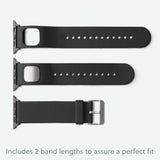 Kardia Band includes 2 different lengths to assure a perfect fit