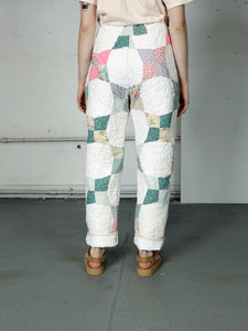 Four Pointed Star Quilted Pant