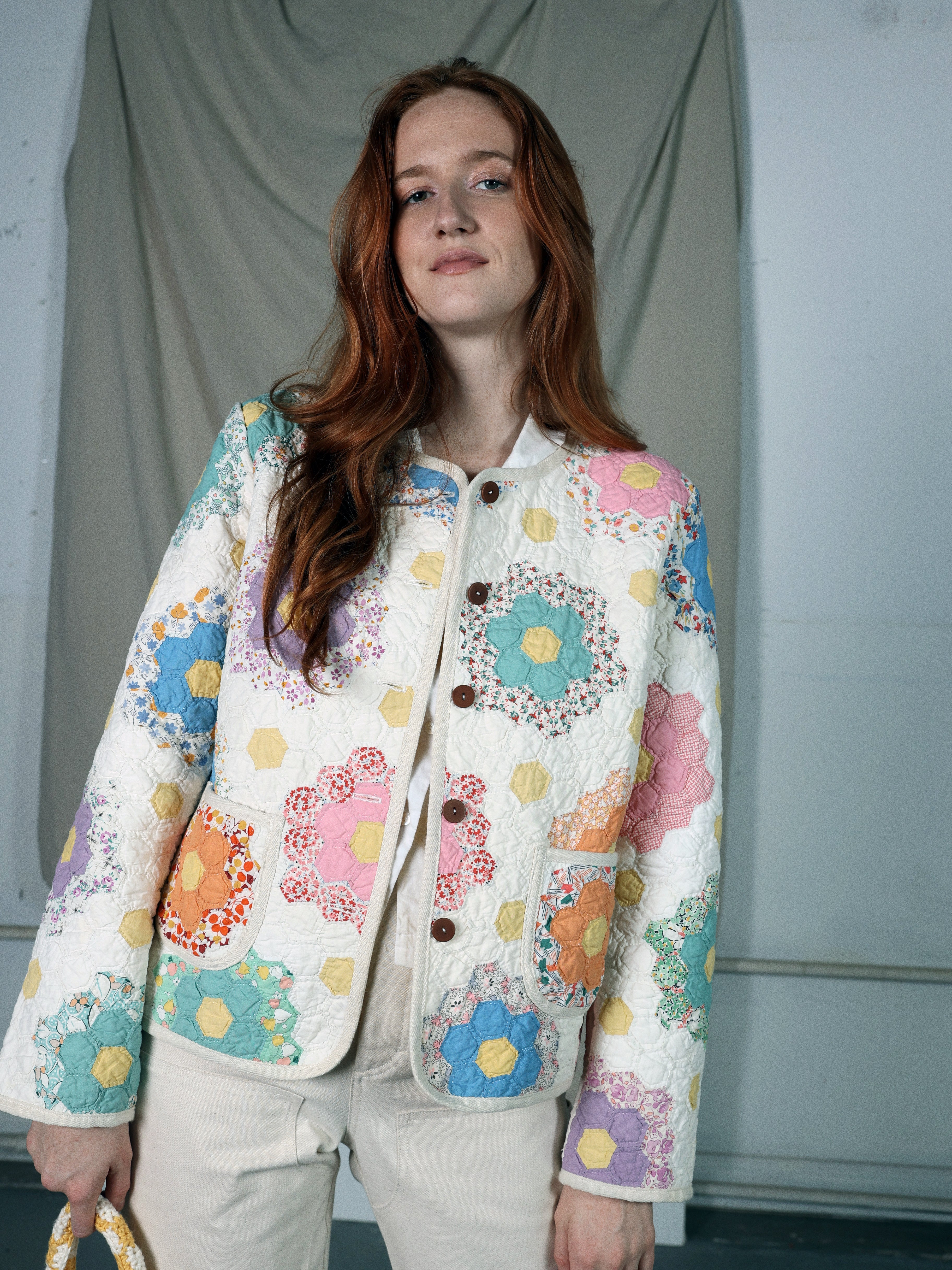 Twin Garden Quilted Jacket
