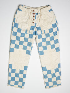 Double Irish Chain Quilted Pant