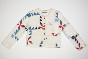 Pinwheel Quilted Jacket