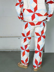 Eight Pointed Star Quilted Pant