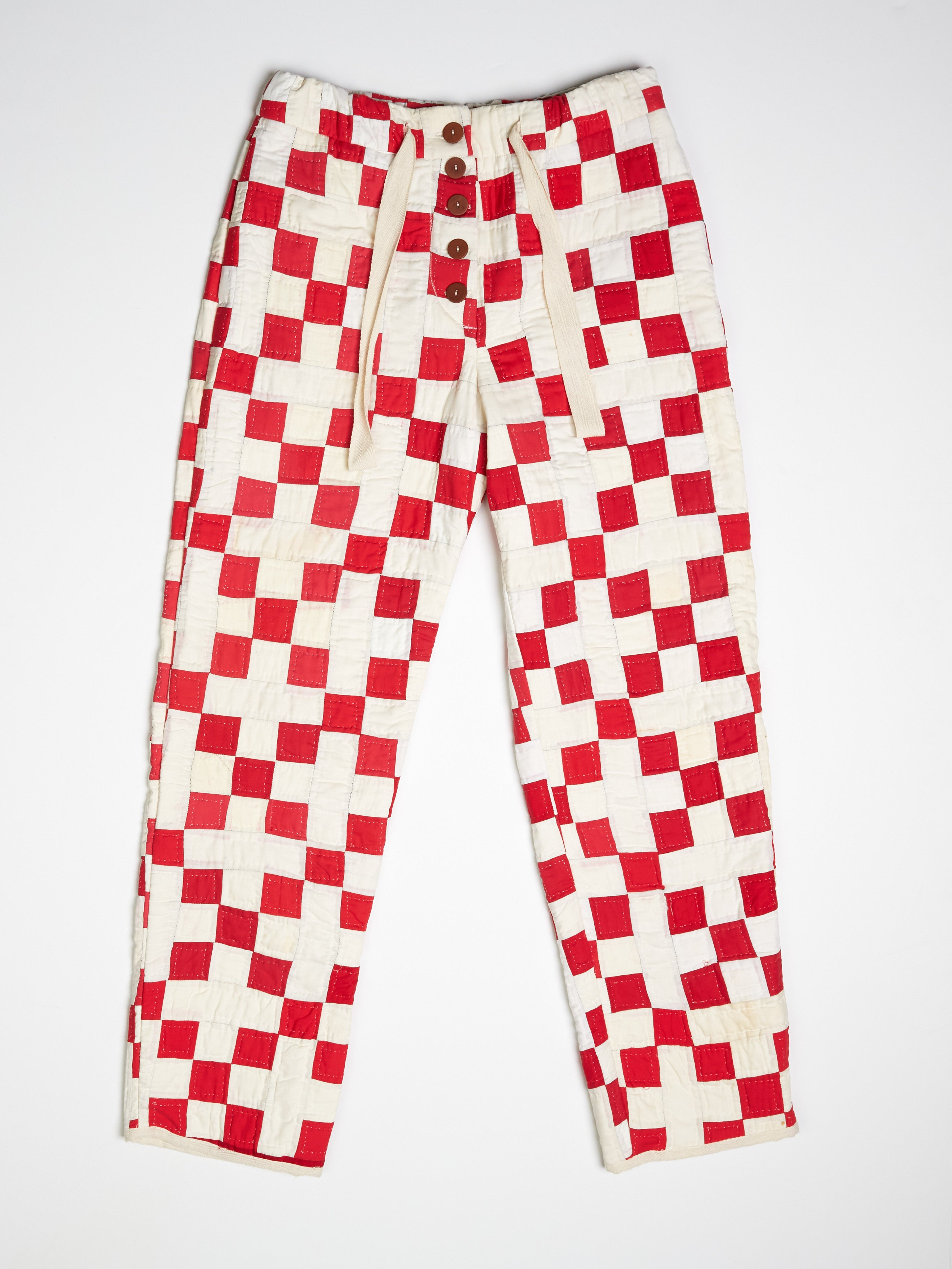 Nine Patch Quilted Pant