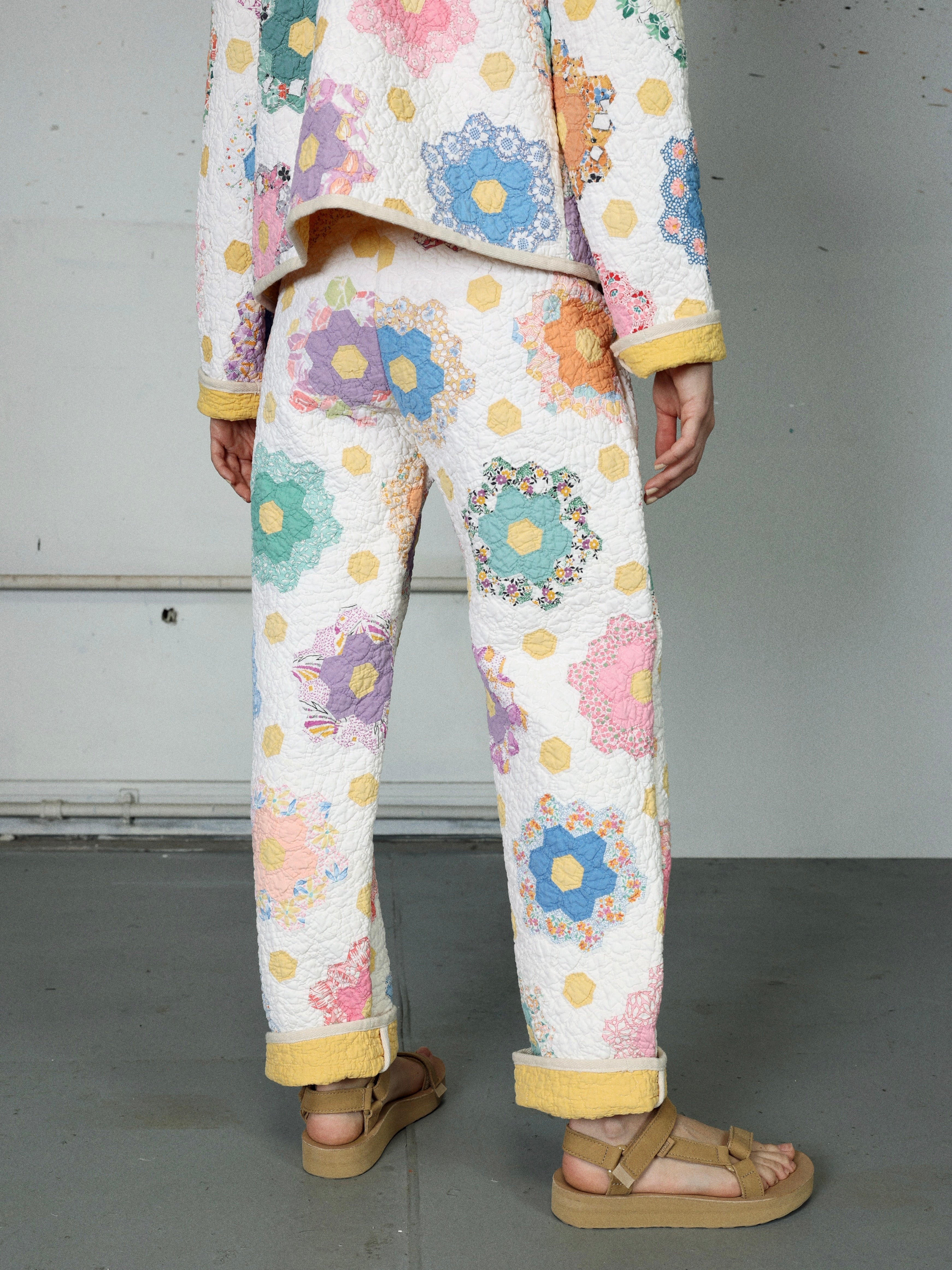 Twin Garden Quilted Pant