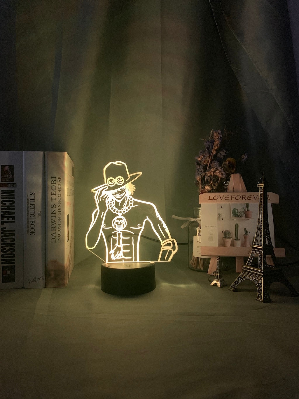 Lampe One Piece Portgas D Ace