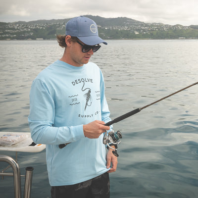 Hook and Line LS Tee