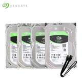 Seagate 1TB 2TB 3TB 4TB 6TB 8TB 10TB 12TB Desktop HDD Internal Hard Disk Drive 3.5'' 5400 RPM SATA 6Gb/s Hard Drive For Computer