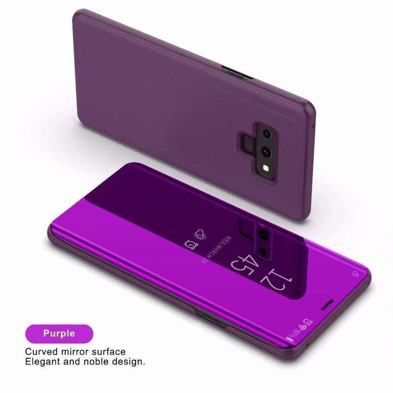 Smart Mirror Flip Phone Case Suitable For Samsung Note8 Note9 Note10 Note10Plus