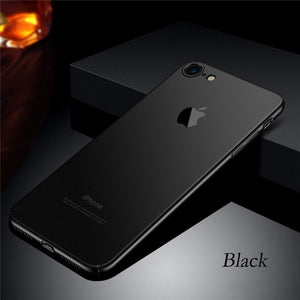 Luxury Matte Original Phone Case With Logo For iPhone Series