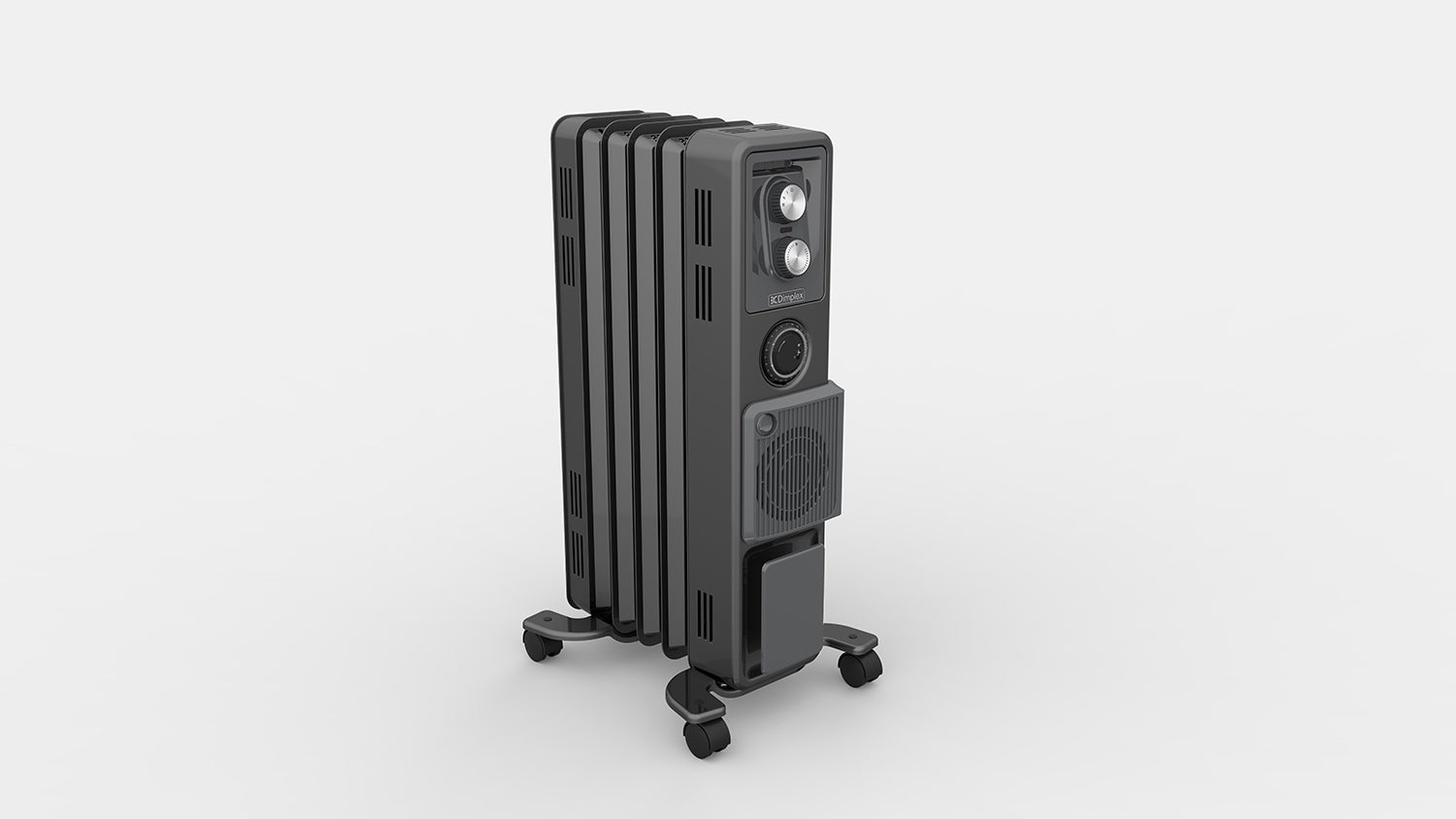 1.5kW Oil Free Column Heater with Timer & Turbo Fan