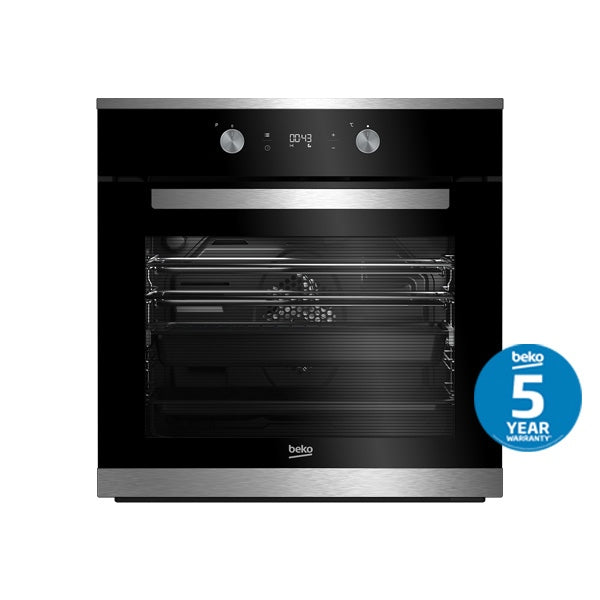 BEKO BBO60S1PB Multifunction Pyrolytic Built-in Oven