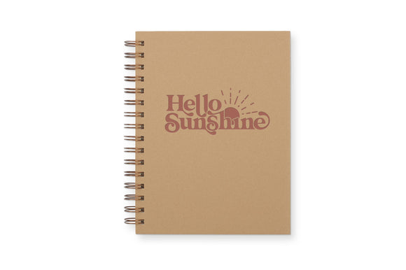 Hello Sunshine Journal : Lined Notebook