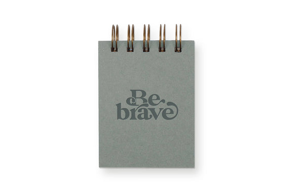 Be Brave Mini Jotter Notebook