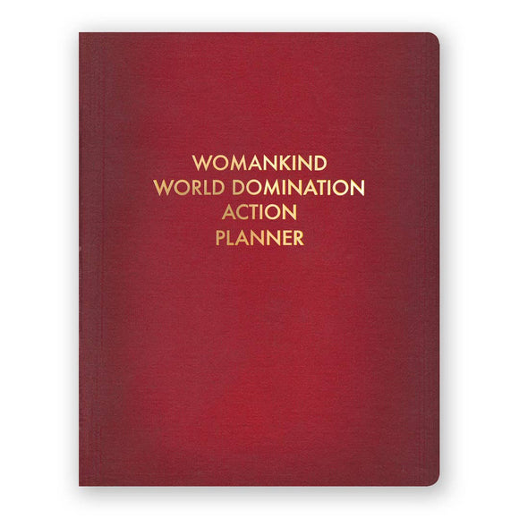 Womankind World Domination Action Planner