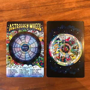 Astrology Wheel Mini Print