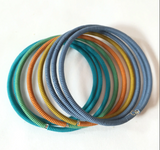 Spiral Color Block Bracelet
