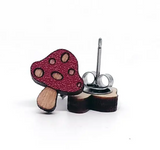 Fun Wood Earrings