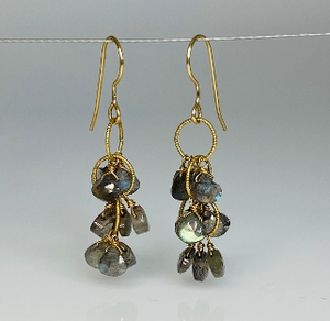 Kyle Chan Multi-Stone Earrings