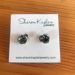 Water Casting Stud Earrings